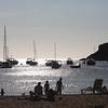 The sunset on Ibiza
