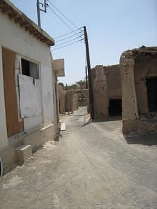 Back street in Nizwa.