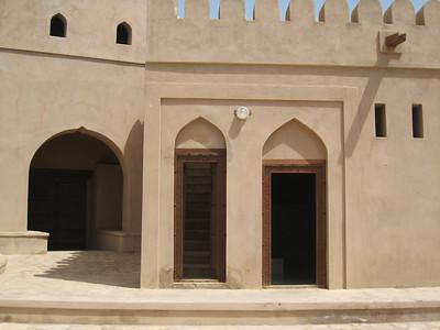 Inside Ibri Fort