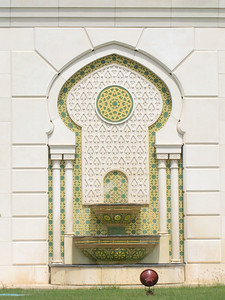 Water fountain at the mosque