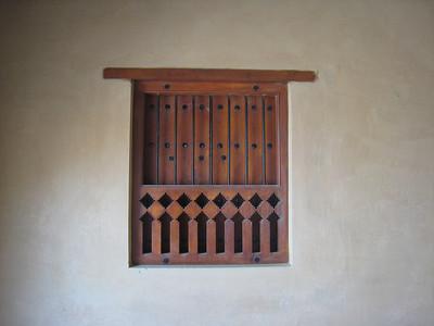 Window in Ibri Fort.