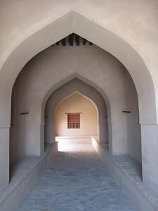 Entrance way into Ibri Fort.