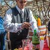 A preparar una jarra de chilcano de pisco - Fundo Tres Esquinas - Subtanjalla - Ica
