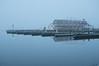 Meyers Pier on a foggy morning.