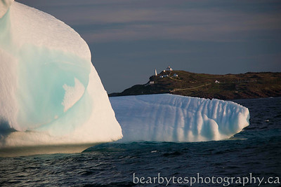 Cape Spear over ice