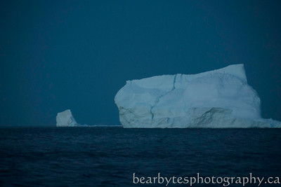 Night time bergs