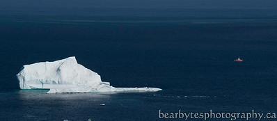 Iceberg quest boat