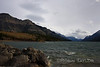 Waterton Lake, near the Prince of Whales Hotel, Waterton, Alberta