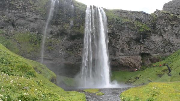 Movie Seljalandsfoss Waterfall