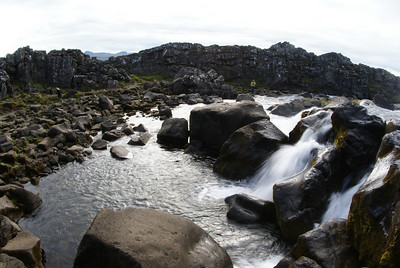 Þingvellir National Park.  Very nice.