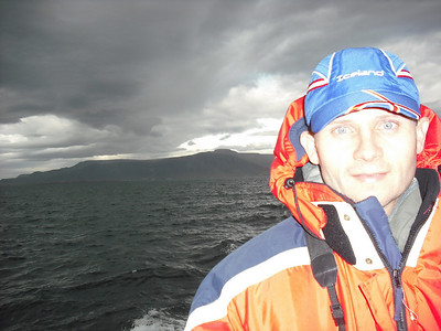 Me on the whale watching tour.