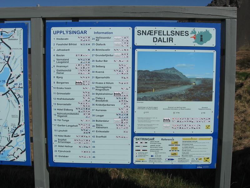 Snaefellsness info