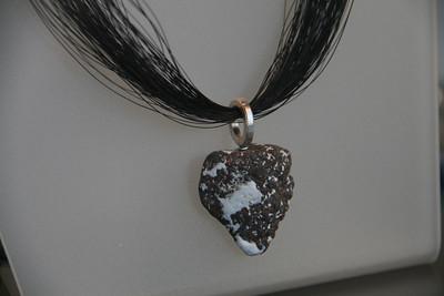 Volcanic jewelry.