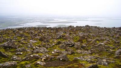 View of Reykjavik.