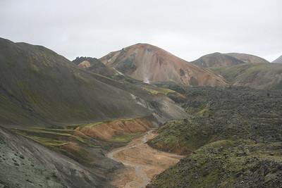 Near Landmannalaugar.