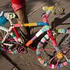 <b>19.8.2012</b> Yarn bombed bike in Reykjavik