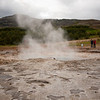 <b>19.8.2012</b> A geyser.  Not actually Geysir itself, but Strokkur, which is just next to Geysir, and still erupts regularly.