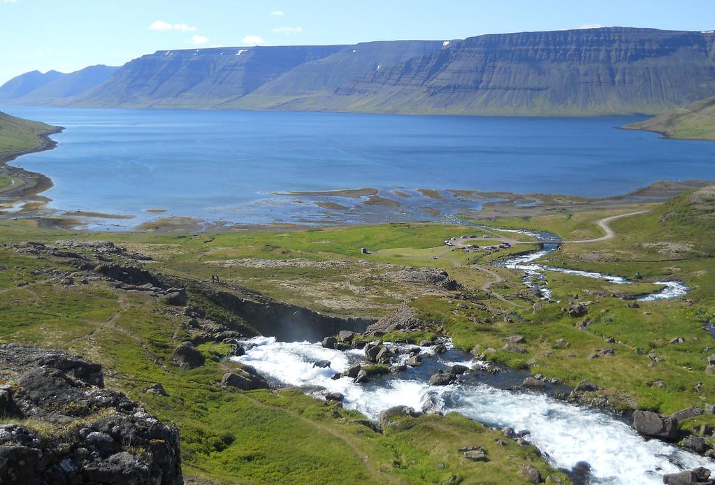 Dynjandi + fjord