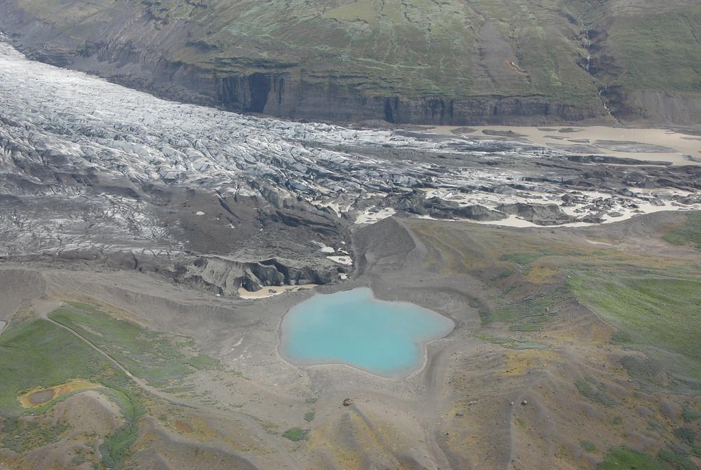 Plane tour above Skaftafell
