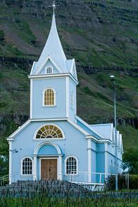 Seyðisfjörður Blue Church