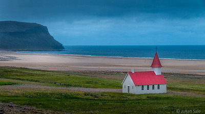 Isolated Church Iceland
