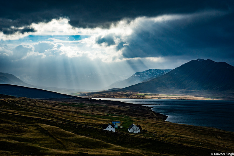 "Taken at Latitude/Longitude:66.100303/-19.070194. 9.32 km West Siglufjordur Northeast Iceland <a href=""http://www.geonames.org/maps/google_66.100303_-19.070194.html""> (Map link)</a>"