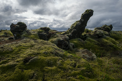 Mossy Lava Rocks, near Vik