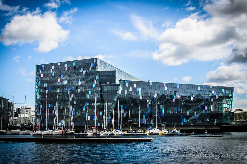 Harpa Concert Hall - Reykjavik Iceland