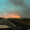 Arrival at sunrise
