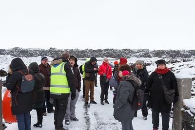 Bridging Two Continents At Þingvellir