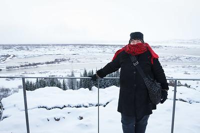 Lauralea At The Þingvellir Lookout