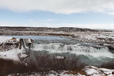 Faxi (Vatnsleysufoss) Waterfall