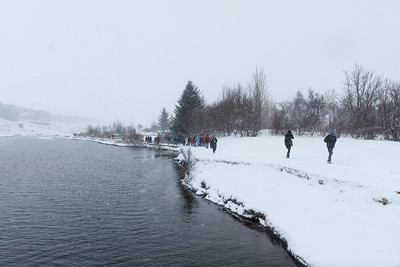 Hiking In Þingvellir