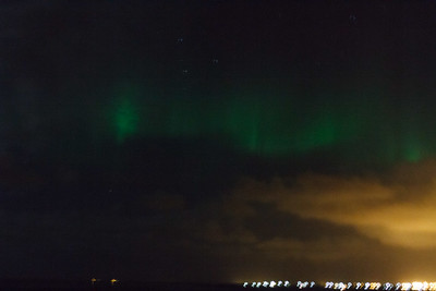 Northern Lights Over Hafnir