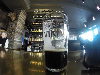 Viking Stout at Bunk Bar