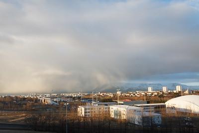Reykjavík Cloudscape