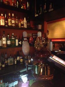 Tap Handles At The Lebowski Bar