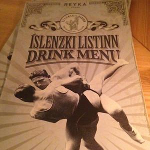 Drink Menu, Íslenski Barinn