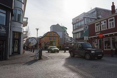 Laugavegur and Skólavörðustígur