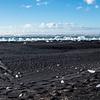 Breidamerkursandur black sand beach