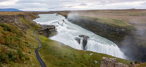 Gullfoss Waterfal