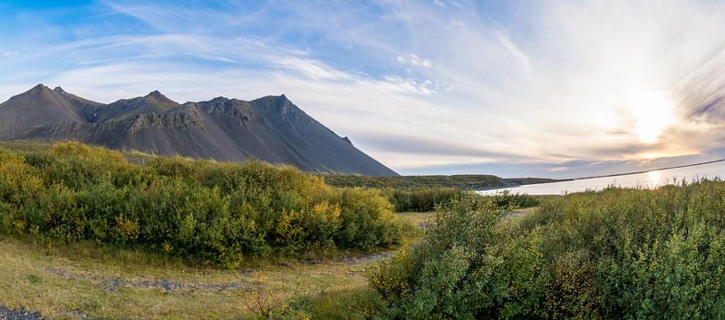 Mt. Hafnarfjall, near Borgarnes