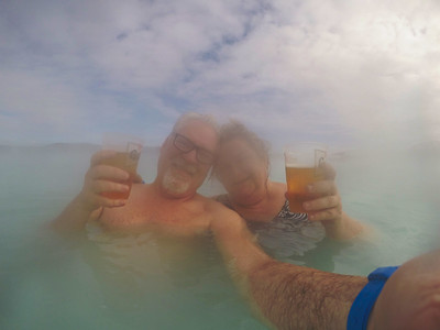 Blue Lagoon Selfie With Lauralea