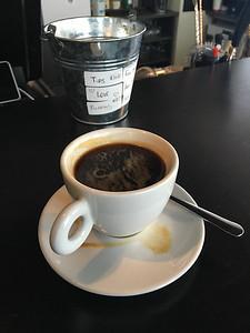 Reykjavík. But first, coffee.