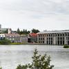 Tjornin (The Pond) and Radhus (City Hall,) Reykjavik