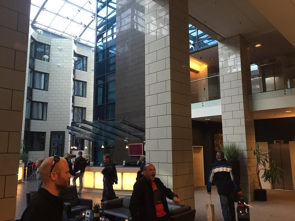 Our Hotel in Reykjavik,