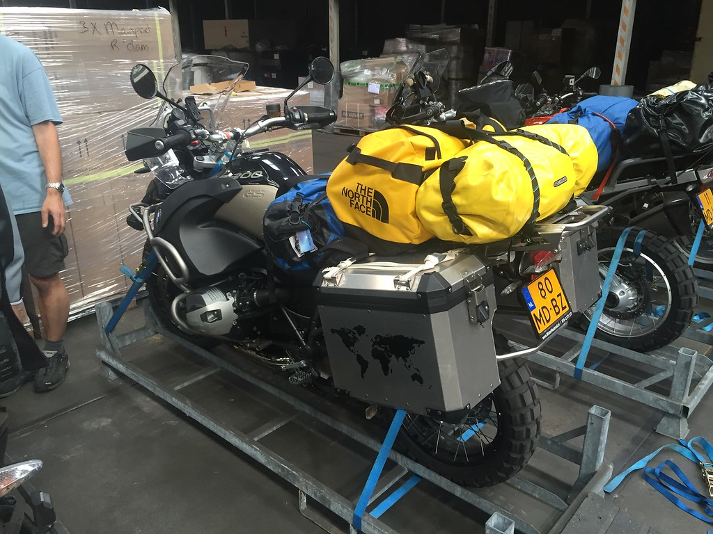 Shipping the bikes on August 20th