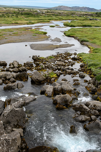 Thingvellir National Park, Oxara River