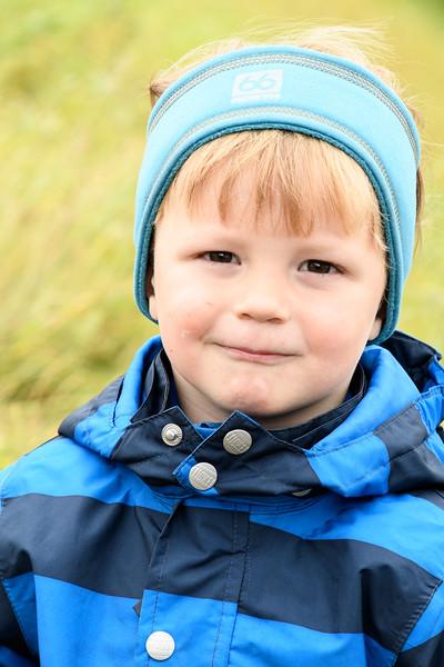 Icelandic child, Flatey Island.