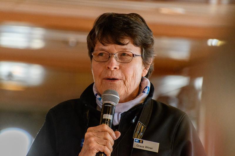 Grace Winer, geologist, naturalist